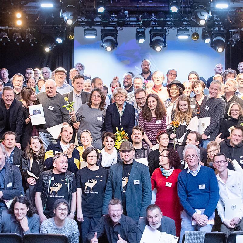 APPLAUS 2019 - Wendlandjazz wieder für Programmplanung ausgezeichnet
